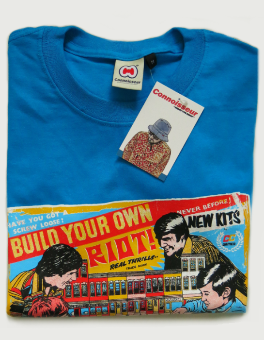 Image of 'BUILD YOUR OWN RIOT'