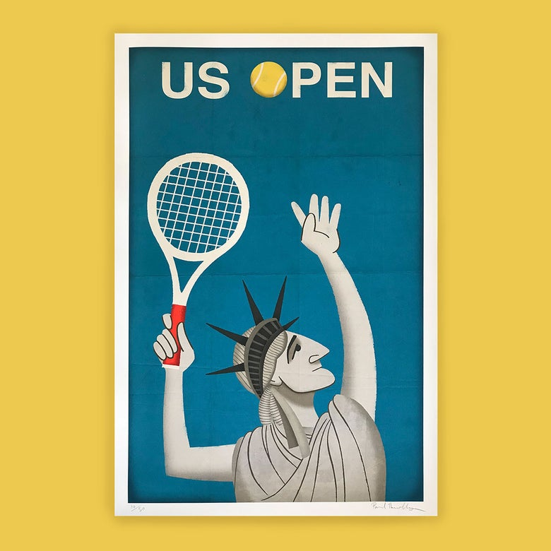 Image of US Open Tennis Poster