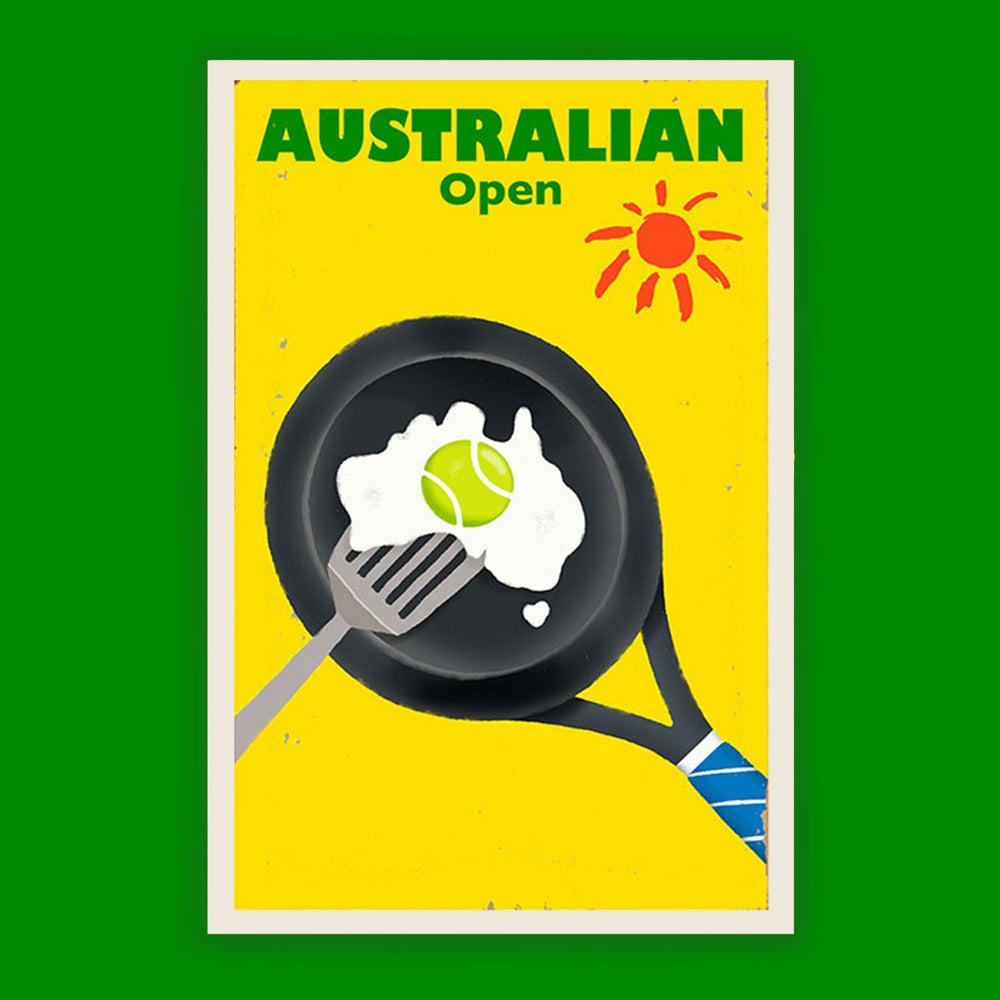 Image of Australian Open Tennis Poster