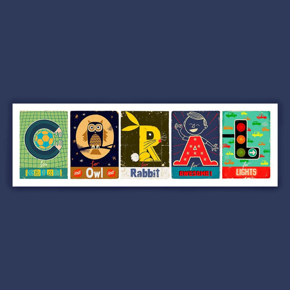 Image of Alphabet Names