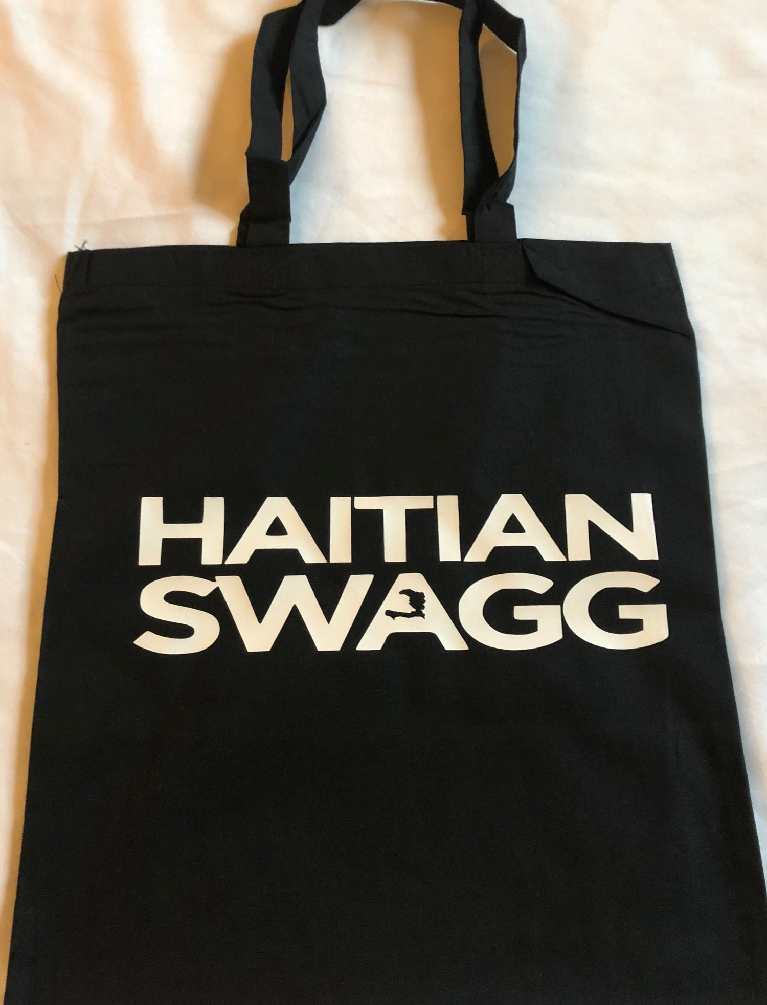Image of Black/white HS Tote Bag