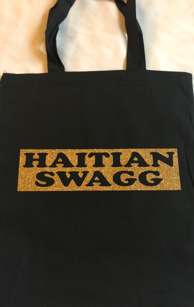 Image of Black/Gold HS Tote Bag