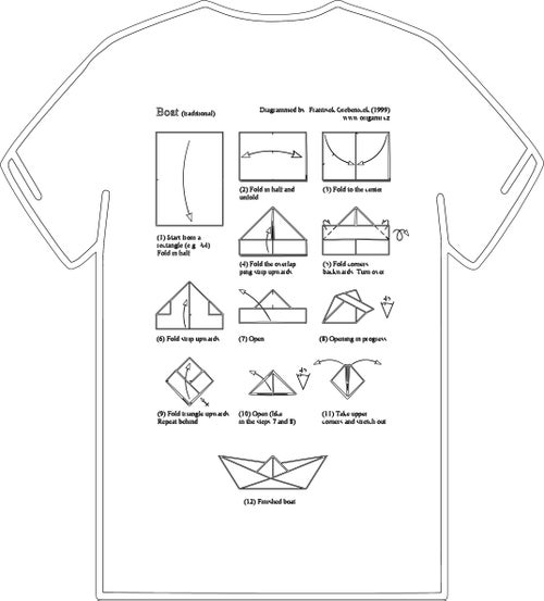 Image of PAPER BOAT (Build Your Own Dream Series) White UNISEX Limited