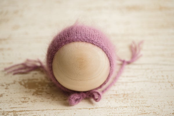 Image of All Around the Mulberry Bush Bonnet {Angora}