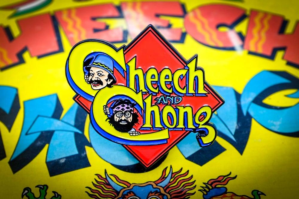 Image of Cheech & Chong Enamel Pin