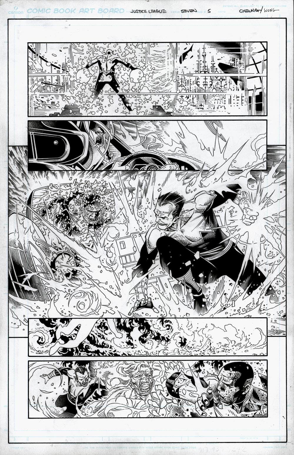 Image of JUSTICE LEAGUE #7 Page 05