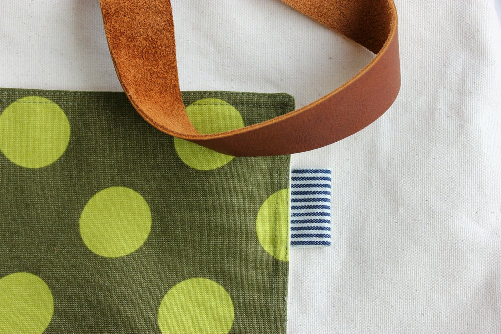 Image of Olive + Dot - x- a OOAK Market Nell Tote
