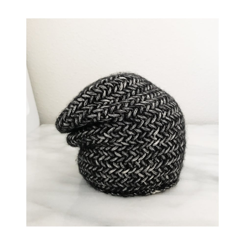 Image of Pre-order Cotton Merino Herringbone Slouch