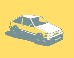 AE86 - Matt Q. Spangler Illustration