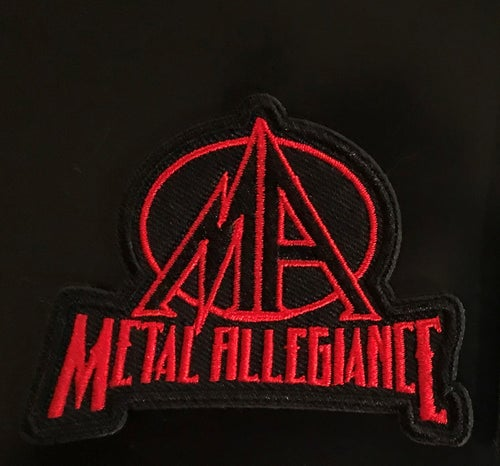 Image of Metal Allegiance Logo Patches (Set of 2)