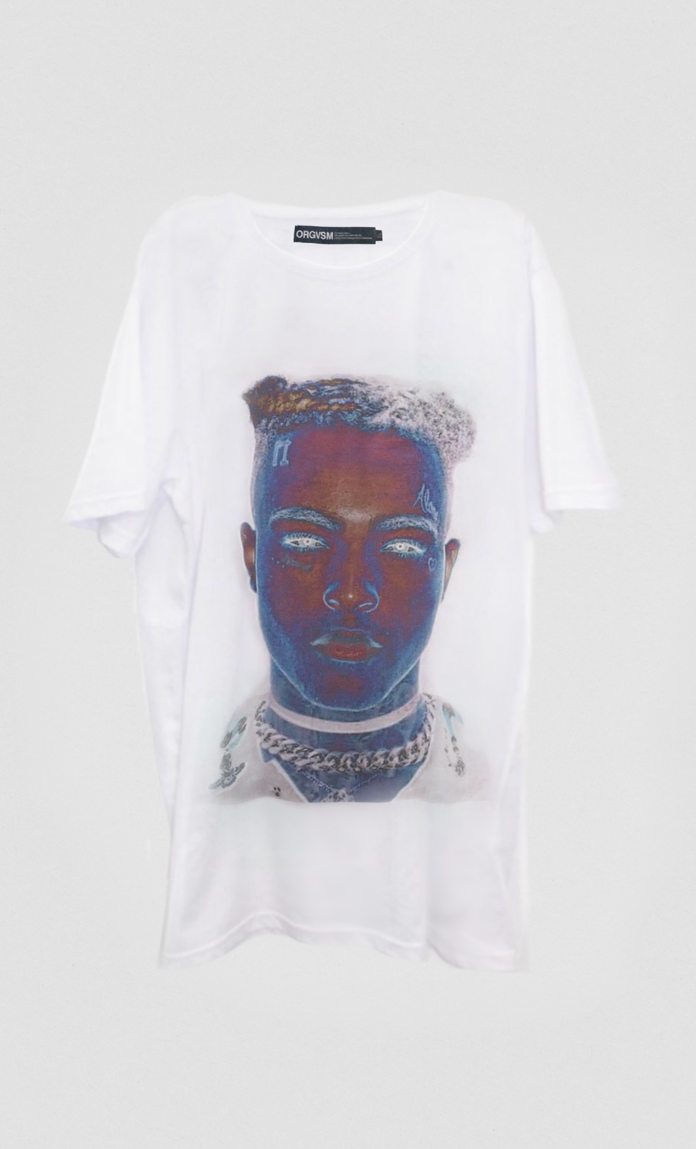 Image of XXX TENTACION TRIBUTE TEE.