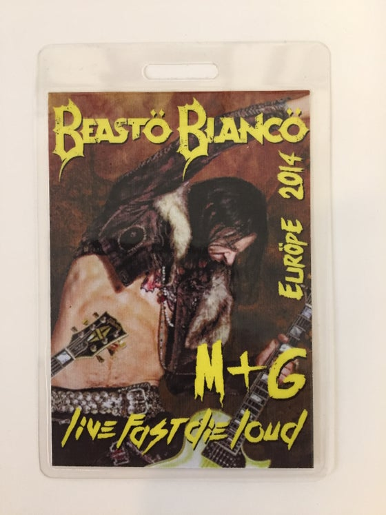 Image of OFFICIAL - BEASTO BLANCO - 2014 TOUR PASS