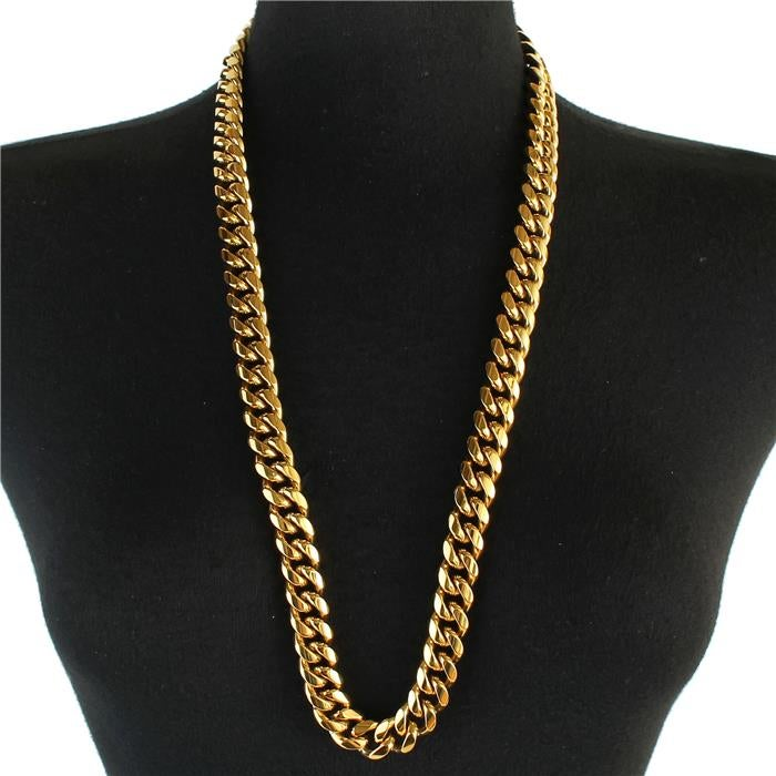 Image of Stainless Steel Curb Chain Necklace