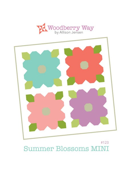 Image of Summer Blossoms MINI PDF Pattern