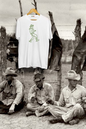 Image of Cowboy Tee - White