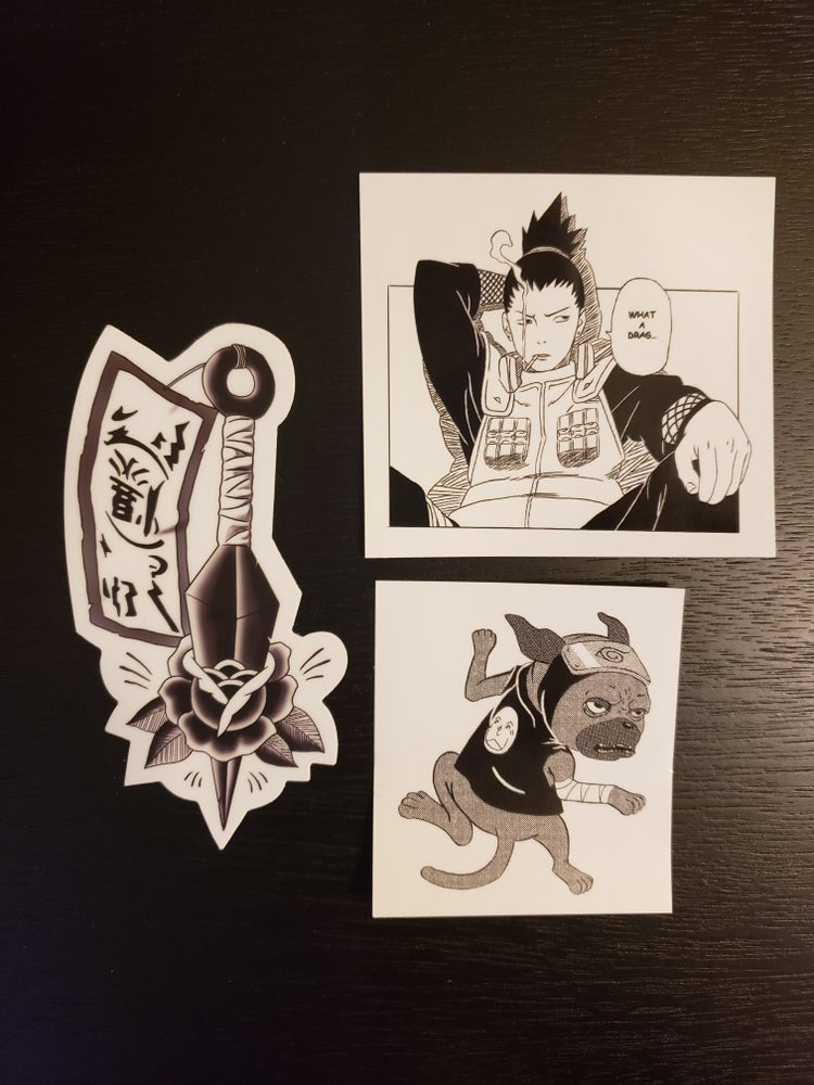 Image of Naruto Sticker Pack