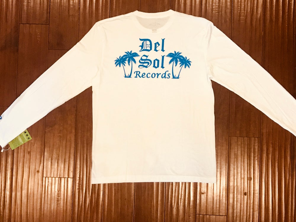 Image of Del Sol - Blue Long Sleeve- Microphone Check