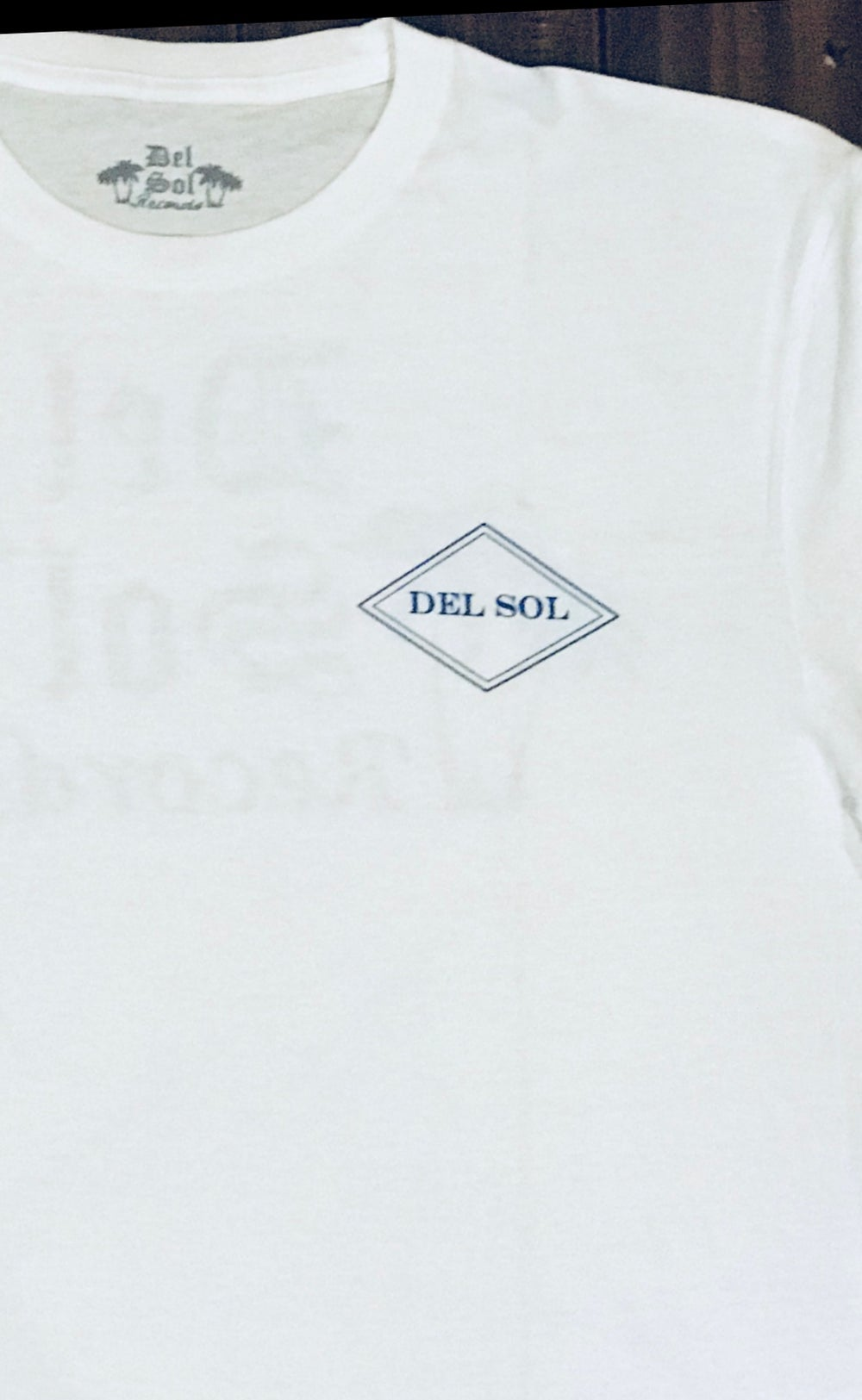 Del Sol - Blue Long Sleeve- Microphone Check