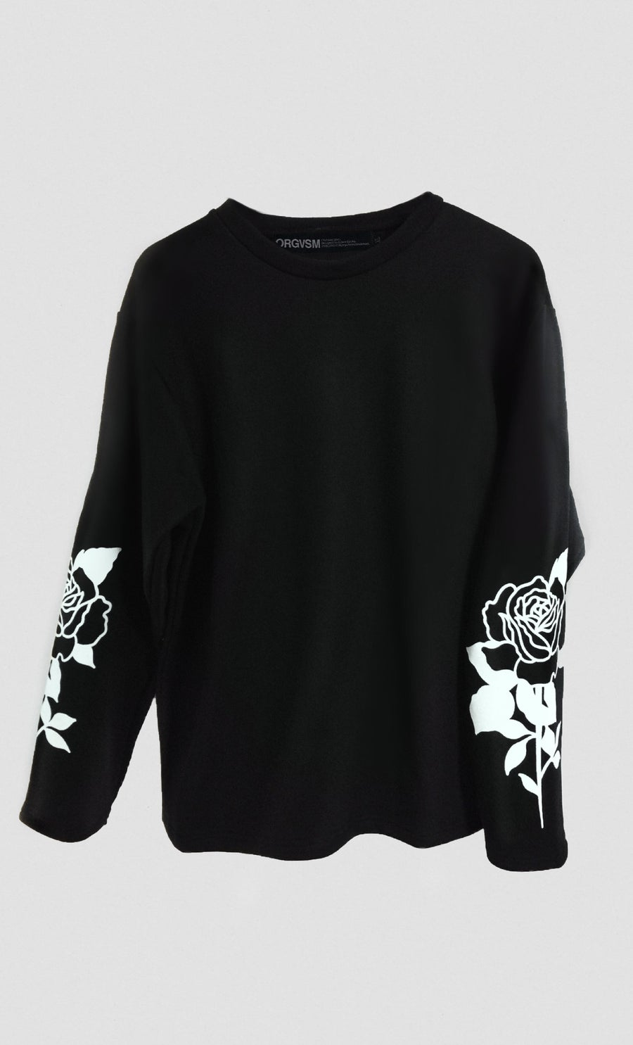 Image of ORGVSM BLACK LONG SLEEVE //PRE ORDER