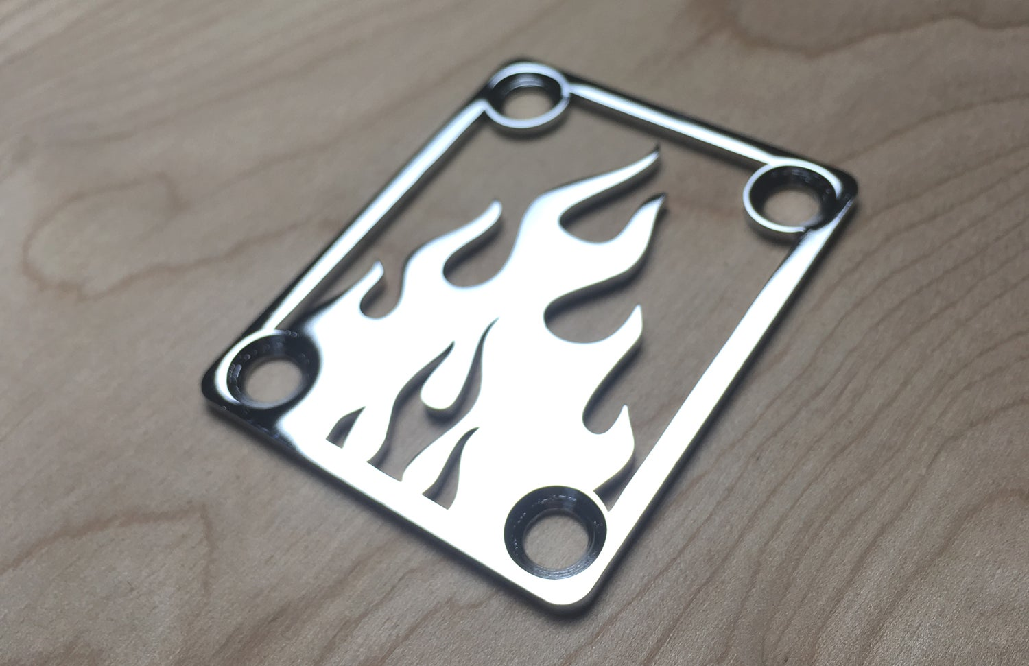Image of Flame - Chrome Finish