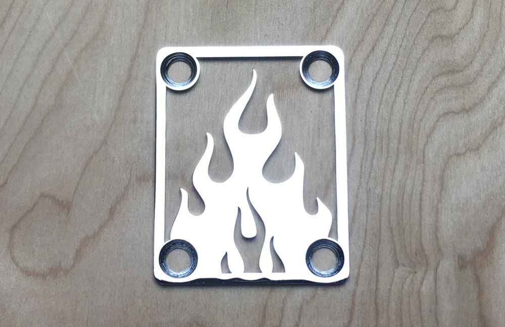 Image of Flame - Chrome Finish