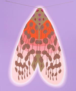Image of Guardian ////// (#6 Lilac/Orange)