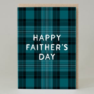 Image of Tartan Faither's Day (Card)