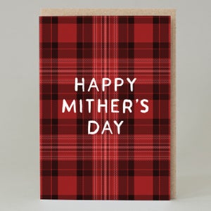 Image of Tartan Mither's Day (Card)