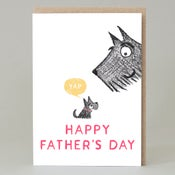 Image of Scottie Happy Father's Day (Card)