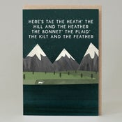 Image of Here's tae the heath (Card)