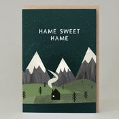 Image of Hame sweet hame (Card)