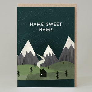 Image of Hame sweet hame (Card)