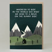 Image of Where'er ye bide (Card)