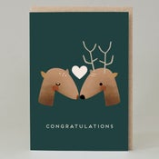 Image of Deer congratulations (Card)