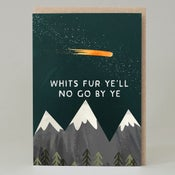 Image of Whits fur ye'll (Card)