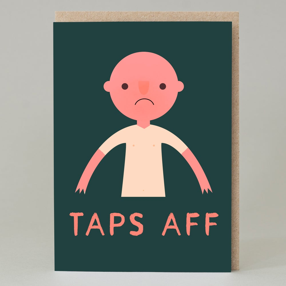 Image of Taps aff (Card)