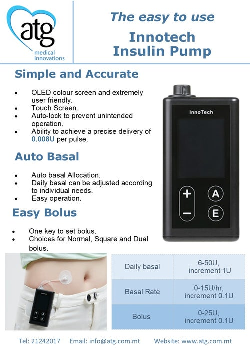 Image of Innotech - Insulin Pump