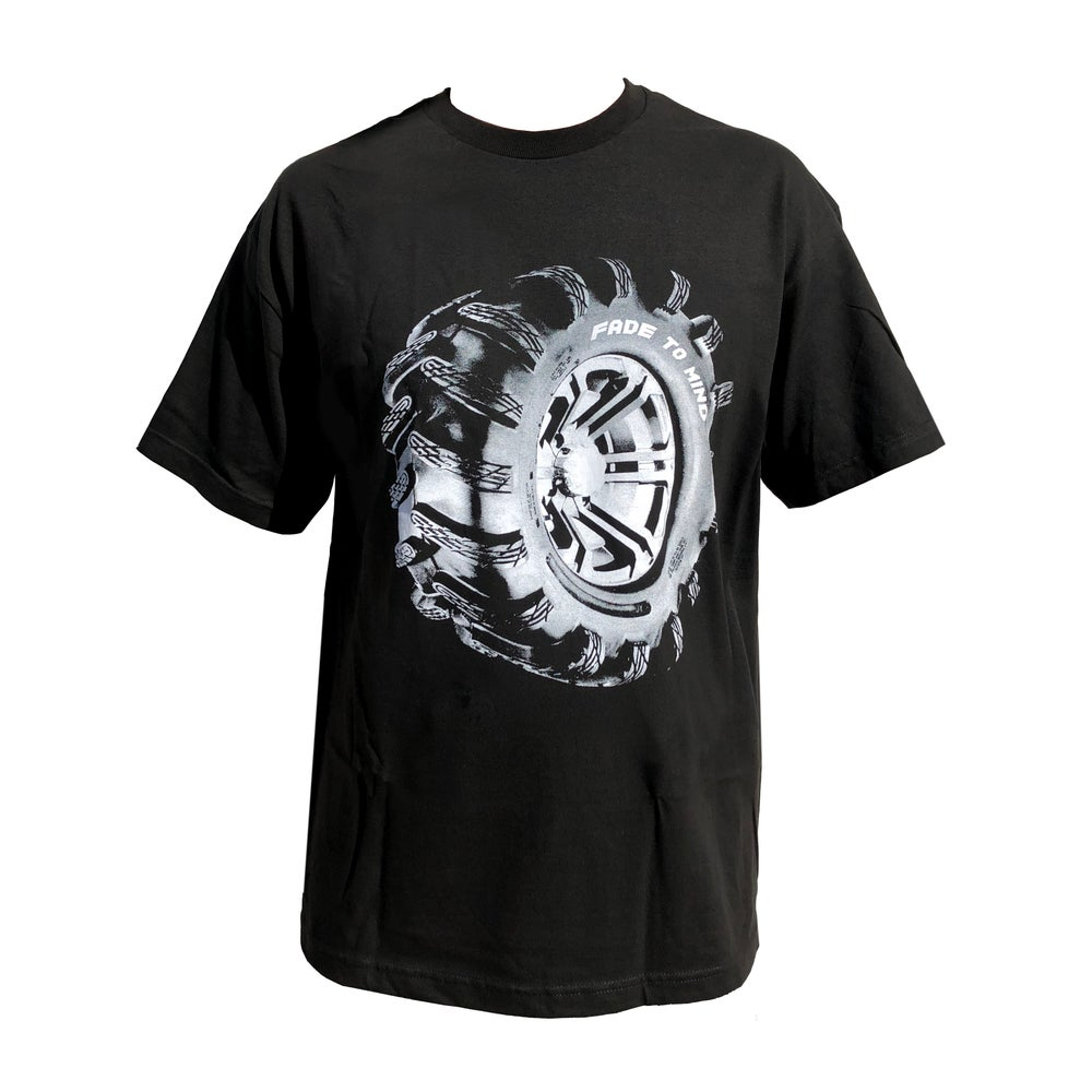Image of Fade to Mind Tire Tread Tee
