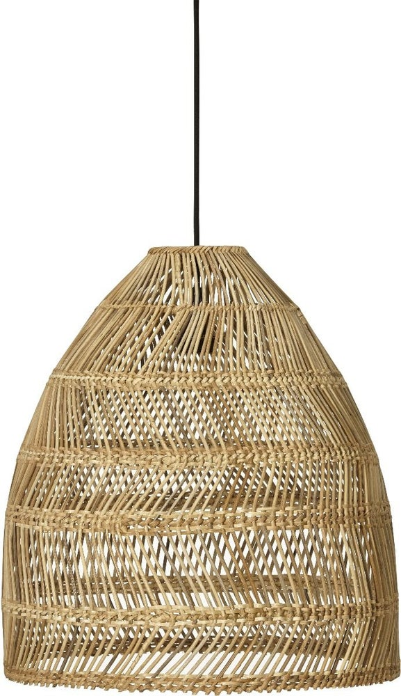 Image of OVERSIZED RATTAN PENDANT