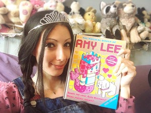 Image of The Magical World of Amy Lee! Autographed & Personalized Book!