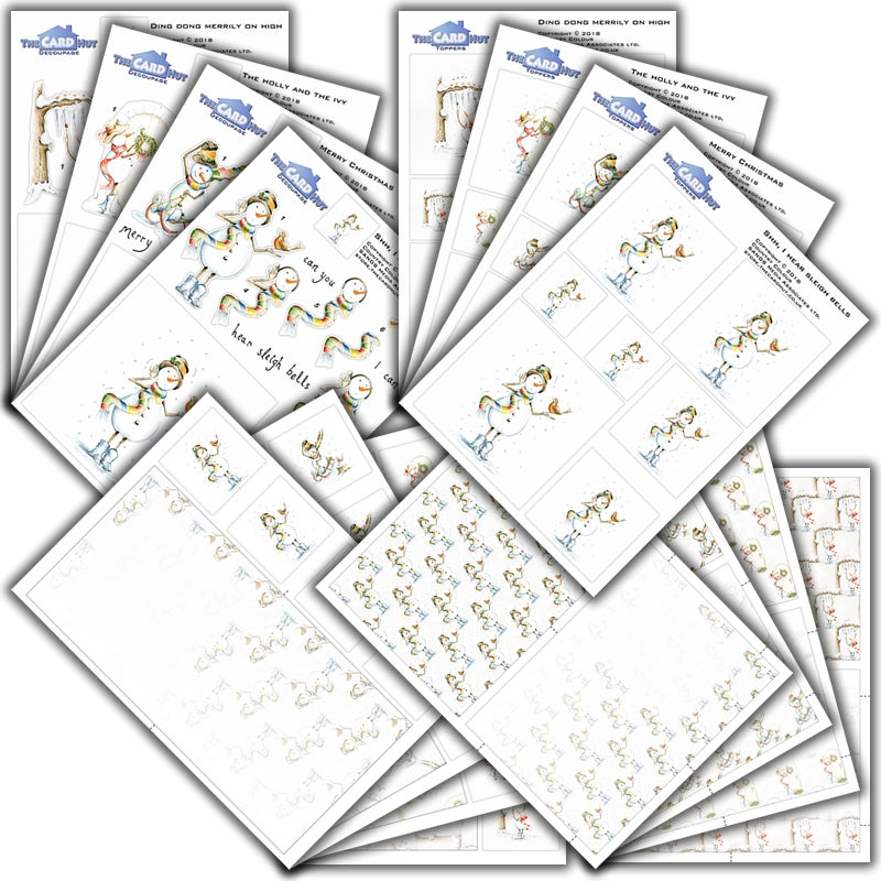 Image of Complete snowboots paper collection