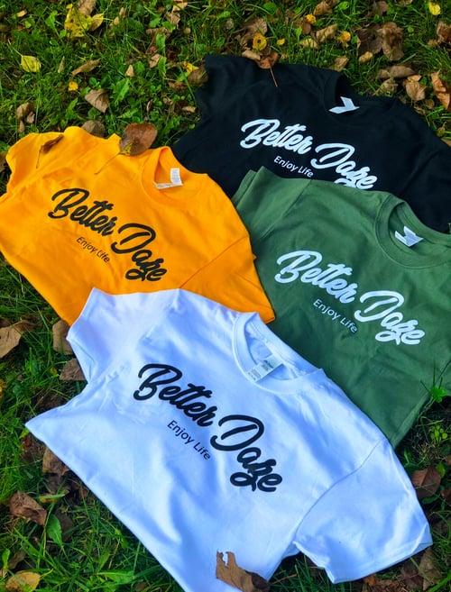 Image of White Better Daze Crewneck T-shirt
