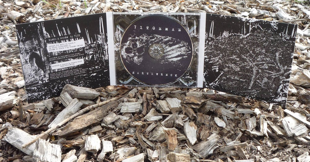 Image of 71TonMan - 'Earthwreck' CD