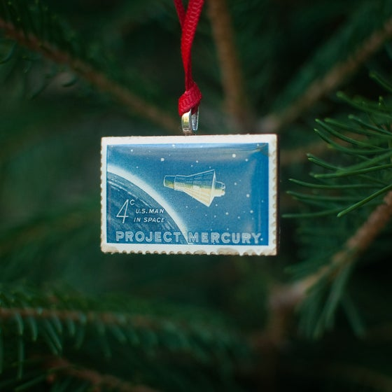 Image of Project Mercury Stamp