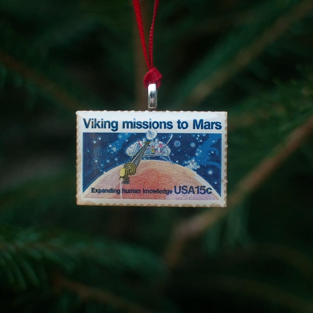 Image of Viking Lander Stamp