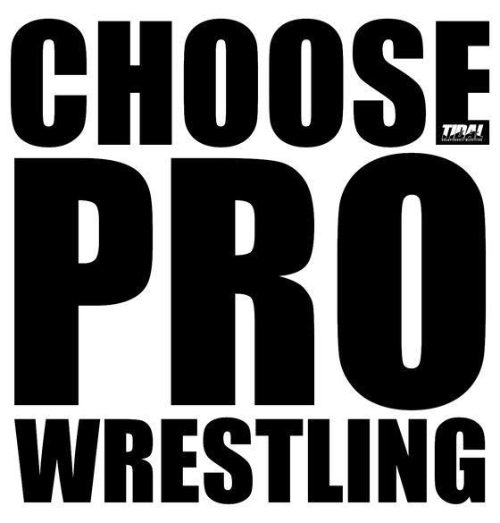 Image of CHOOSE PROFESSIONAL WRESTLING T shirt