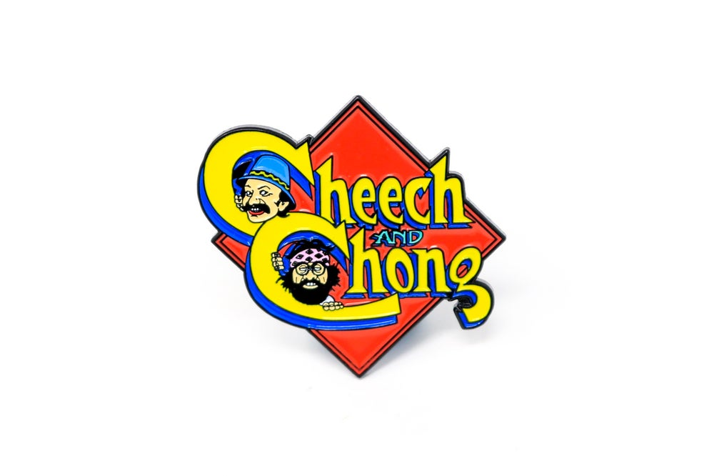 Image of Cheech & Chong Enamel Pin