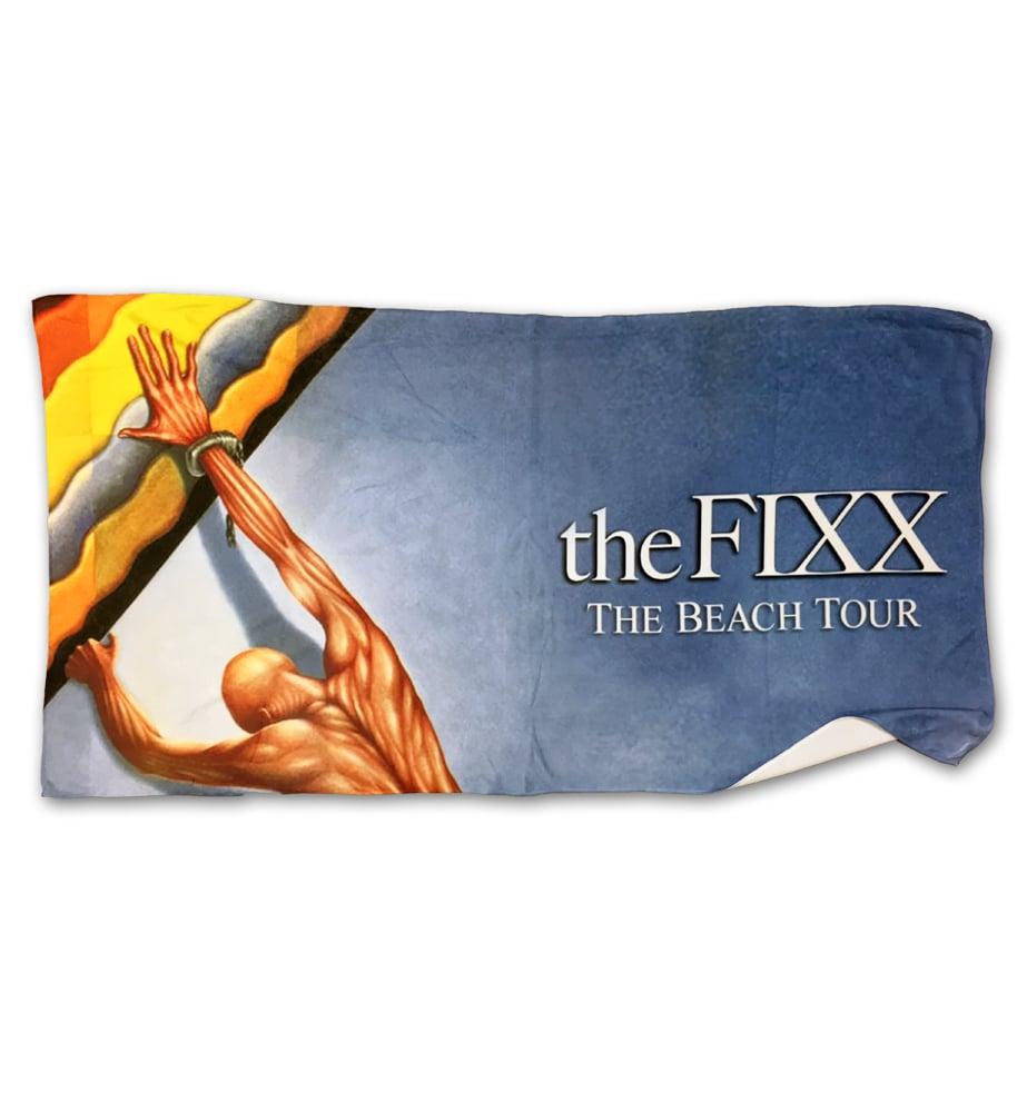 "Image of The FIXX ""Beach Tour"" Towel"