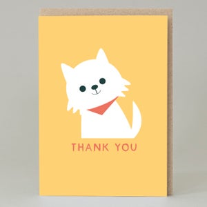 Image of Scottie 'thank you' (Card)
