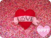 Image of Love Heart & scroll